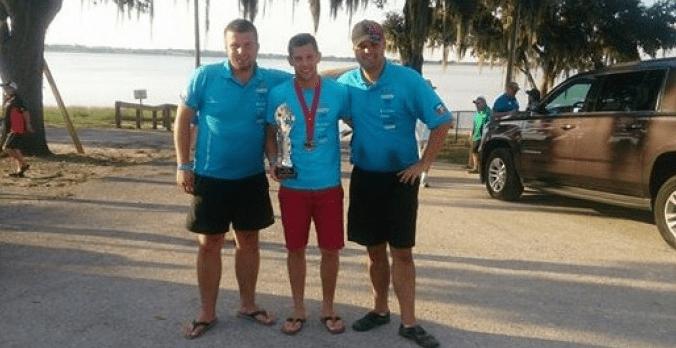 USA III miejscev - Trzecie miejsce w Marcina Zielińskiego w mistrzostwach A.P.B.A.