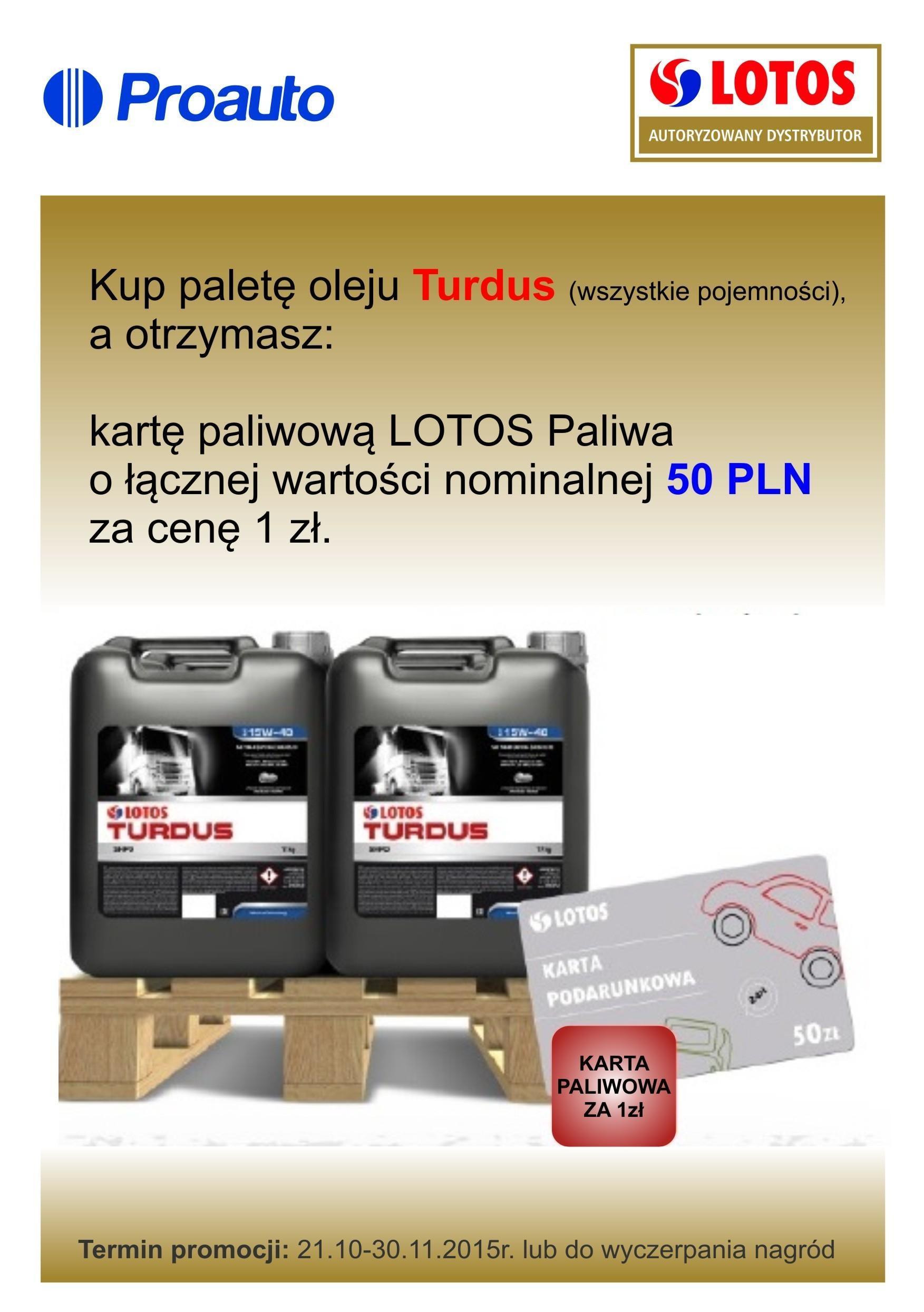 promocja lotos turdus - Promocja Lotos Turdus