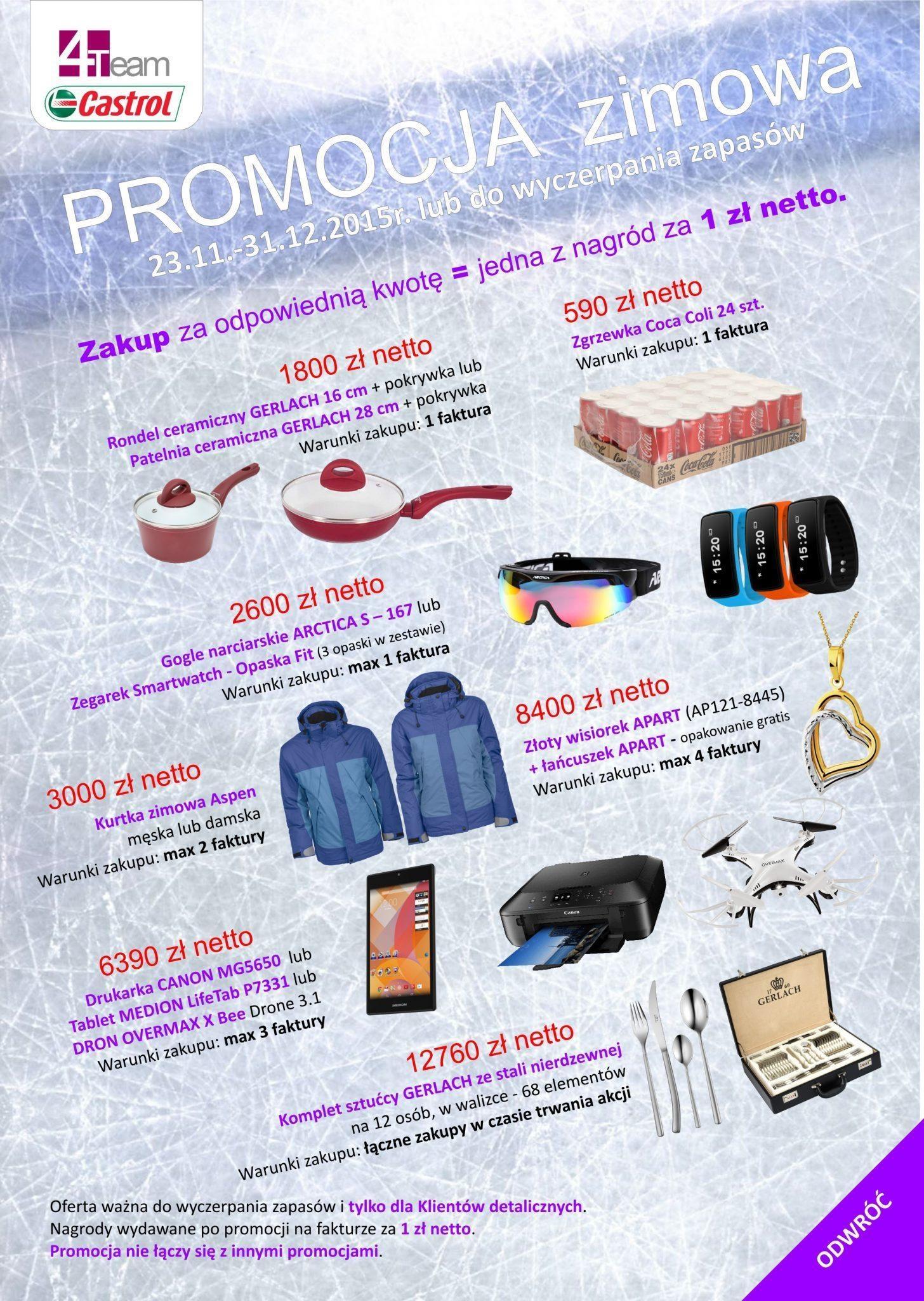 2015 11 27 promocja 4T2 - Promocja zimowa Castrol
