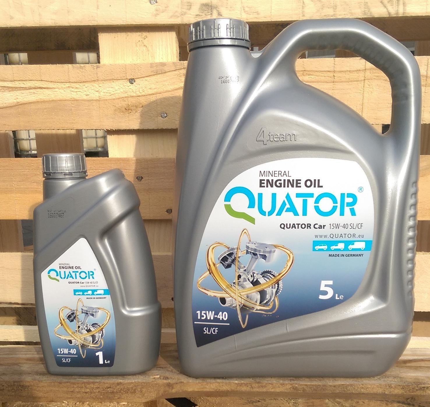 Quator Car New - Nowe Etykiety na produktach z linii Quator Car