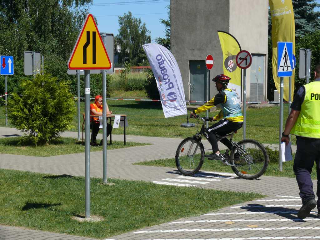P1340212 - XLI Finał Ogólnopolskiego Turnieju Bezpieczeństwa  w Ruchu Drogowym dla uczniów szkół podstawowych i gimnazjalnych w Przelewicach