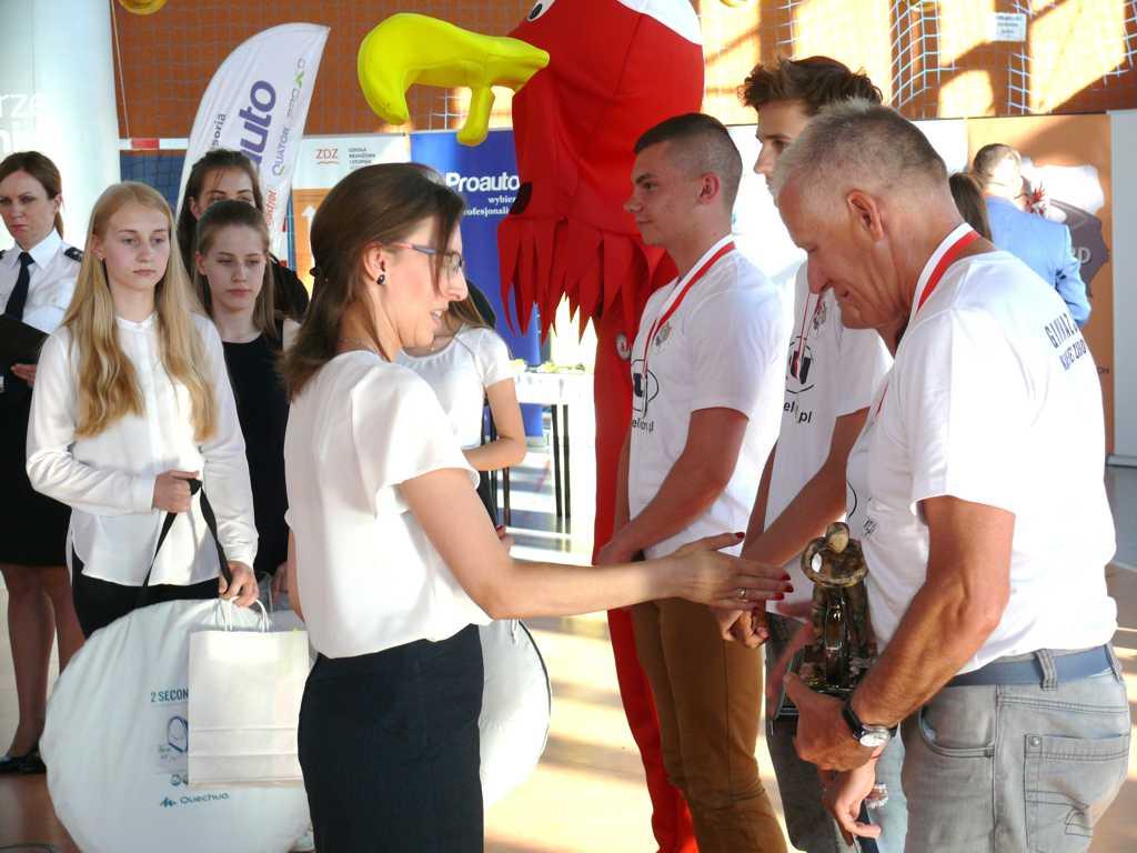 P1340326 - XLI Finał Ogólnopolskiego Turnieju Bezpieczeństwa  w Ruchu Drogowym dla uczniów szkół podstawowych i gimnazjalnych w Przelewicach