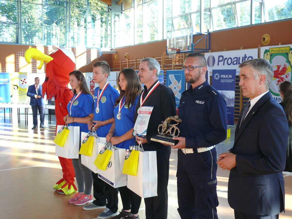 P1340336 - XLI Finał Ogólnopolskiego Turnieju Bezpieczeństwa  w Ruchu Drogowym dla uczniów szkół podstawowych i gimnazjalnych w Przelewicach