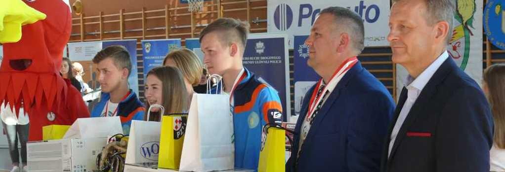 obraz wyrozniajacy 1022x349 - XLI Finał Ogólnopolskiego Turnieju Bezpieczeństwa  w Ruchu Drogowym dla uczniów szkół podstawowych i gimnazjalnych w Przelewicach