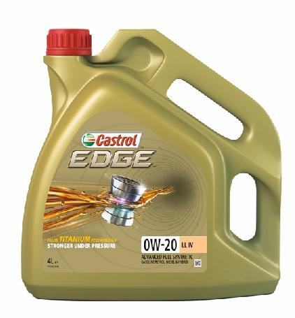 Castrol EDGE 0W 20 LL IV EN 4L low - Nowa odsłona linii Castrol Egde