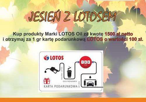Jesien board 500x349 - Promocja Jesień z Lotosm