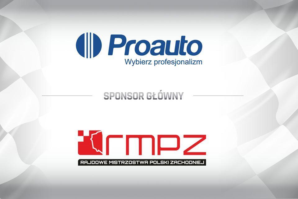 RMPZ 1 - Strategiczne partnerstwo Proauto przy organizacji Rajdowych Mistrzostw Polski Zachodniej w 2020 roku !
