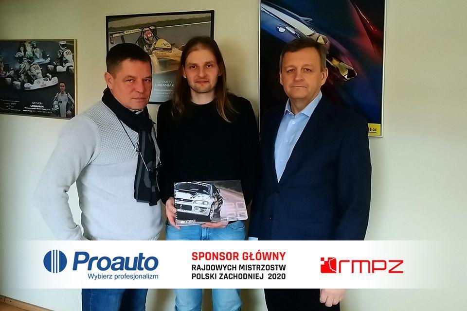 RMPZ 2 - Strategiczne partnerstwo Proauto przy organizacji Rajdowych Mistrzostw Polski Zachodniej w 2020 roku !