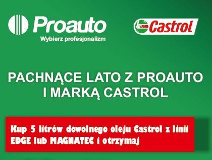 Pachnące Lato Castrol board - Promocja Pachnące Lato Castrol
