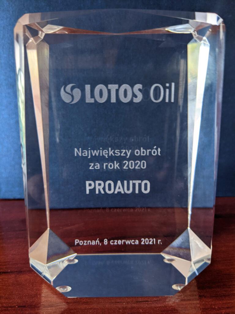 nagroda lotos 2 768x1024 - Proauto Znowu Najlepsze !